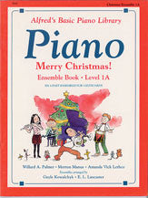 Alfred's Basic Piano Course: Merry Christmas! Ensemble, Book 1A 00-5747   upc 038081111995