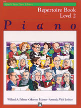 Alfred's Basic Piano Course: Repertoire Book 2 00-6188   upc 038081003016