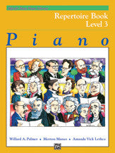 Alfred's Basic Piano Course: Repertoire Book 3 00-6189   upc 038081003030