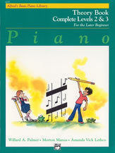 Alfred's Basic Piano Course: Theory Book Complete 2 & 3 00-6235   upc 038081018980