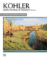 Short School of Velocity, Op. 242 00-628   upc 038081032627