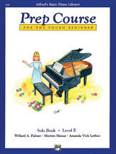 Alfred's Basic Piano Prep Course: Solo Book E 00-6295   upc 038081013251
