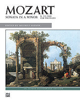 Sonata in A minor, K. 310 00-8004   upc 038081059457