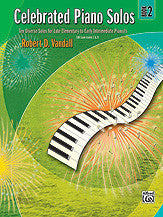 Celebrated Piano Solos, Book 2 00-881125   upc 038081247489