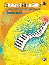 Celebrated Piano Solos, Book 5 00-881341   upc 038081249650