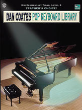 Teacher's Choice! Dan Coates Pop Keyboard Library, Book 2 00-AFM0206   upc 654979039693