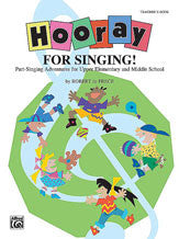 Hooray for Singing! 00-BMR08013   upc 654979183747