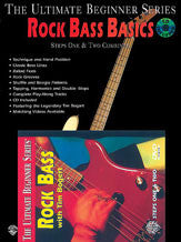 Ultimate Beginner Series Mega Pak: Rock Bass Basics 00-DVD2001   upc 654979089124
