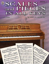 Scales and Pieces in All Keys, Book 2 00-EL00218A   upc 654979088844
