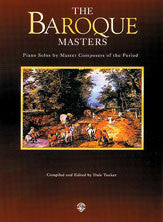 Piano Masters Series: The Baroque Masters 00-EL96114   upc 029156274103