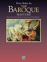 Masters Series: Easy Solos by the Baroque Masters 00-EL9702   upc 029156300994