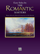Masters Series: Easy Solos by the Romantic Masters 00-EL9704   upc 029156301014