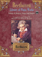 Library of Piano Works, Volume I: Dances, Songs, & Studies 00-ELM01043CD   upc 654979025252