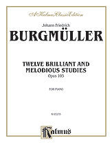 Twelve Brilliant and Melodious Studies, Op. 105 00-K03275   upc 029156076691