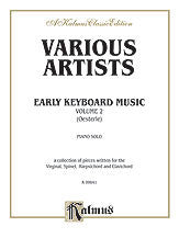 Early Keyboard Music, Volume II 00-K09841   upc 029156691245