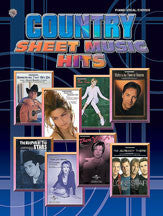 Country Sheet Music Hits 00-MFM0322   upc 654979069096