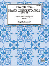 Piano Concerto No. 3, Op. 30 (Excerpts) (from <I>Shine</I>) 00-PA9701   upc 029156642186