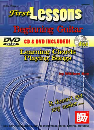 First Lessons Beginning Guitar: Learning Chords/Playing Songs 20000SET   upc 796279039932