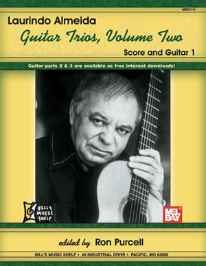 Laurindo Almeida Guitar Trios, Volume Two 20114   upc 796279084796