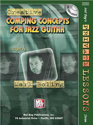 Creative Comping Concepts for Jazz Guitar 20414BCD   upc 796279096164