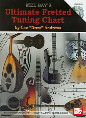 Ultimate Fretted Tuning Chart 20475BCD   upc 796279094689