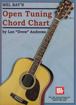 Open Tuning Chord Chart 20673   upc 796279095440