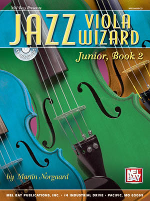 Jazz Viola Wizard Junior, Book 2 20868BCD   upc 796279086783