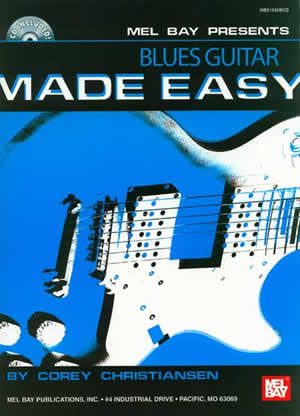 Blues Guitar Made Easy 21042BCD   upc
