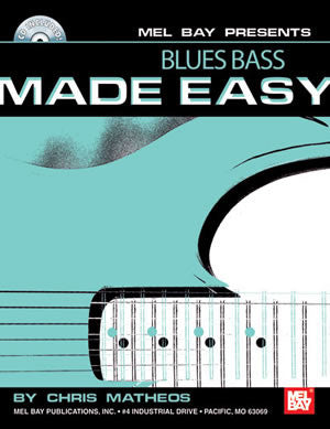 Blues Bass Made Easy 21192BCD   upc 796279099035