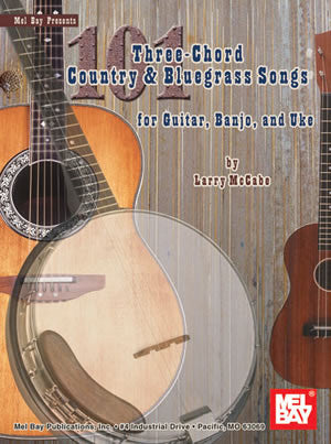 101 Three-Chord Country & Bluegrass Songs 21282   upc 796279104418
