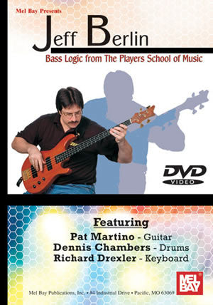 Jeff Berlin - Bass Logic from the Players School of Music 21317DVD   upc 796279102421