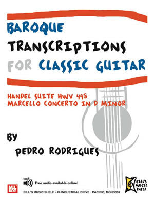 Baroque Transcriptions for Classic Guitar 21321   upc