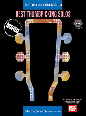 MBGU Fingerstyle Curriculum: Best Thumbpicking Solos 21364BCD   upc 796279102049