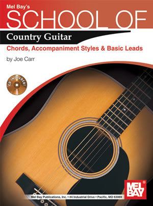 School of Country Guitar: Chords, Accompaniment, Styles & Basic 21506BCD   upc