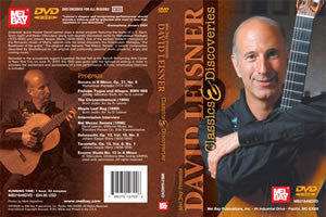 David Leisner: Classics & Discoveries 21649DVD   upc 796279107006