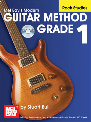 Modern Guitar Method Grade 1: Rock Studies 21657BCD   upc 796279105422