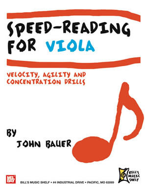 Speed-Reading for Viola 21780   upc 796279107914