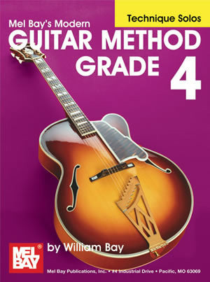 Modern Guitar Method Grade 4, Technique Solos 21793   upc 796279106894
