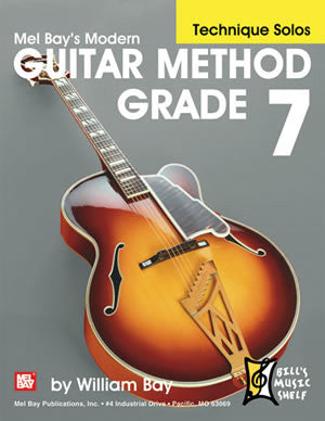 Modern Guitar Method Grade 7, Technique Solos 21906   upc