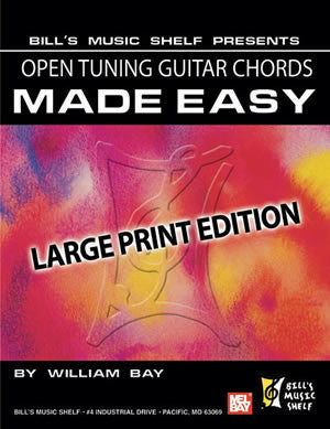 Open Tuning Guitar Chords Made Easy, 22103   upc 796279110242