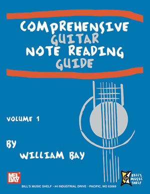 Comprehensive Guitar Note Reading Guide, Volume 1 22113   upc 796279110211