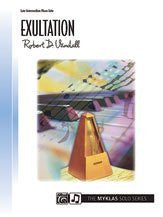 Exulation piano solo by robert d.vandall   upc 746277014271