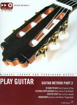 Play Guitar: Guitar Method Part 2 35908   upc 796279097789