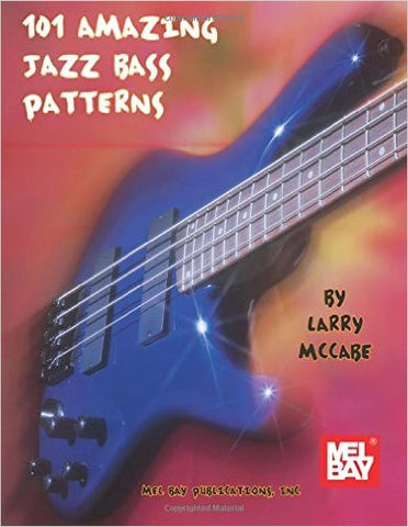 101 Amazing Jazz Bass Patterns 97336M   upc 0796279050746