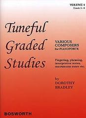 BRADLEY DOROTHY TUNEFUL GRADED STUDIES VOL4 GRADE 5 TO 6 PIANO BOOKí«í_í«Œ'íë_íë__ BOE004578   upc 9781847721358