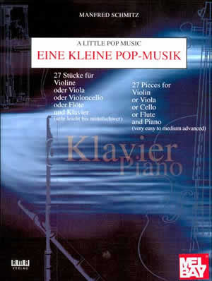 A Little Pop Music for Piano   upc 796279092128