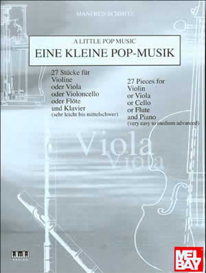 A Little Pop Music for Viola   upc 796279092180
