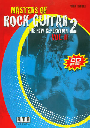 Masters of Rock Guitar 2, Vol. 2 610364E   upc 796279102506