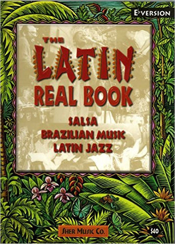 Latin Real Book - Eb UPC 9781883217372