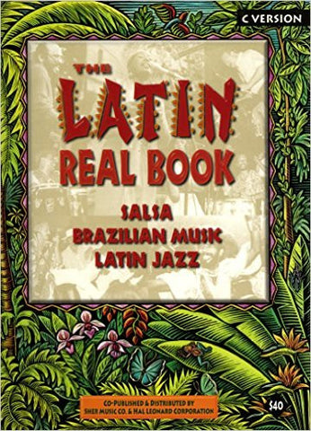 Latin Real Book - C UPC 9781883217051